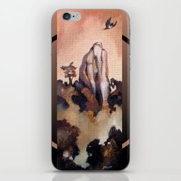 Flight of the Kukupa iPhone Skin