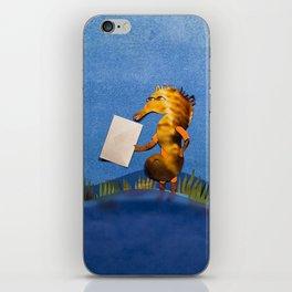 Postman Hippo Histrix iPhone Skin