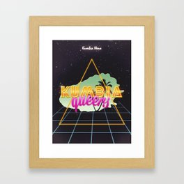 Kumbia queers Framed Art Print
