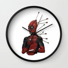 Tea Time Dead-Pool Wall Clock