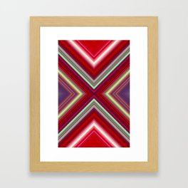 Electronic Ruby Framed Art Print