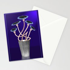Gas Flowers Stationery Cards