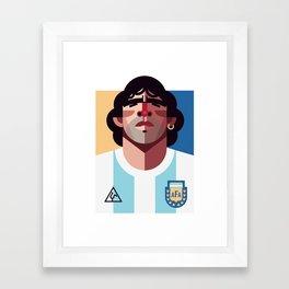 DM10 | La Albiceleste Framed Art Print