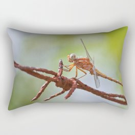 Nature in pastel shades Rectangular Pillow