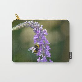 A Lavender Bee Carry-All Pouch