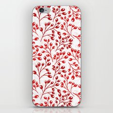 Autumn red berries iPhone & iPod Skin