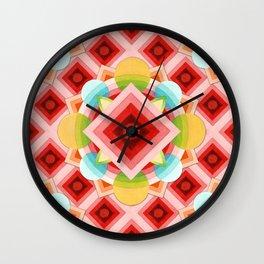 Circus Geometric Wall Clock