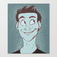stiles Canvas Prints featuring Stiles by The Art of Nicole