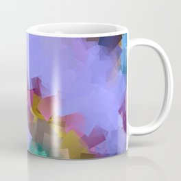 little sqares and rectangles pattern -18- Coffee Mug