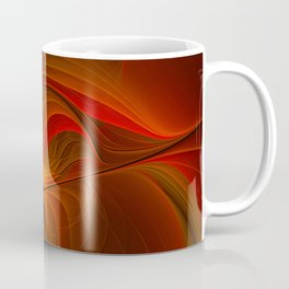 Warmth, Abstract Fractal Art Coffee Mug