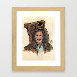 Bear Suit Marc Framed Art Print