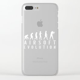 Evolution Soldier Softair Airsoft BBs Gift Clear iPhone Case
