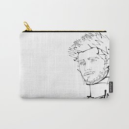 Typographic Zayn Carry-All Pouch