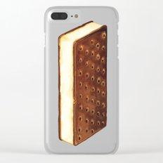 Ice Cream Sandwich Clear iPhone Case