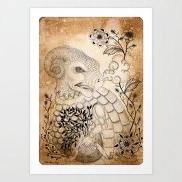 Materia I Art Print