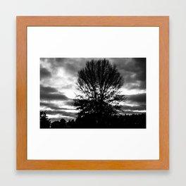 Sky's on Fire Framed Art Print