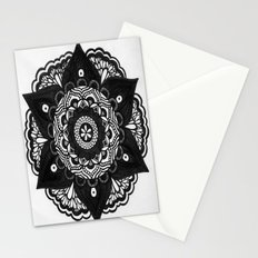 Flower Mandala Number 2 Stationery Cards