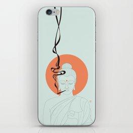 Buddha : Give Peace a Chance! iPhone Skin