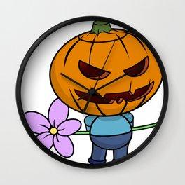Halloween Boy Wall Clock