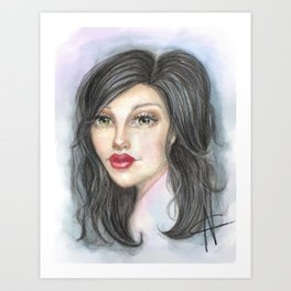 Loraine Art Print