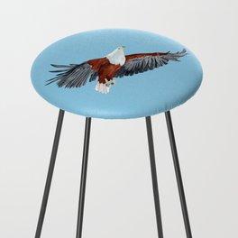 African Fish Eagle (haliaeetus vocifer) Counter Stool