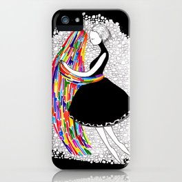 Ghosts Dance iPhone Case