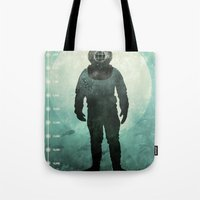 under the sea Tote Bags featuring Under The Sea by Chase Kunz