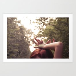 These Hands Art Print