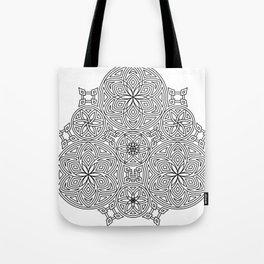 Balanced Flowering Hexad Tote Bag