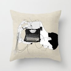Olivetti Throw Pillow