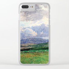 Connemara Mountains Clear iPhone Case