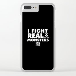 horror Clear iPhone Case