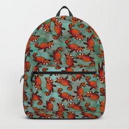 Sleeping Red Panda Backpack