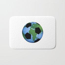 The World Of Soccer Bath Mat
