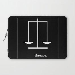 Libra ~ Libraque ~ Zodiac series Laptop Sleeve
