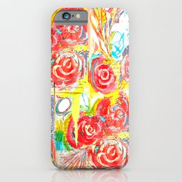 Roses are Red Love iPhone Case