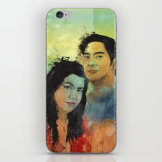 Gidget and Nino iPhone Skin
