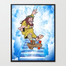 hey zuse kick flip that 20  Canvas Print