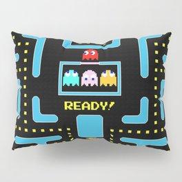 pac-man blue Pillow Sham