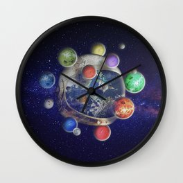 Orbiting Wall Clock