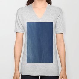 Color gradient and texture 56 sky in Lacanau Unisex V-Neck