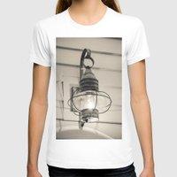 lantern T-shirts featuring Vintage Lantern by Redhedge Photos