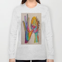 American Sign Language MOTHER Long Sleeve T-shirt