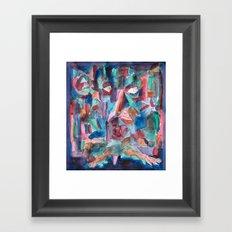 The Counselor Framed Art Print