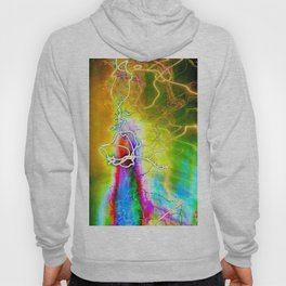 SYNESTHESIA Light Painting Experiment 113 Hoody