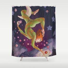Aerial Dream Shower Curtain
