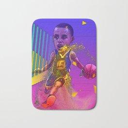 basketball star Bath Mat