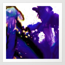 Abstract Bliss 3J by Kathy Morton Stanion Art Print