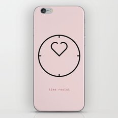 time resist iPhone & iPod Skin