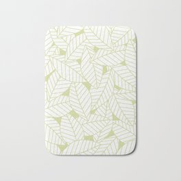 Leaves in Fern Bath Mat